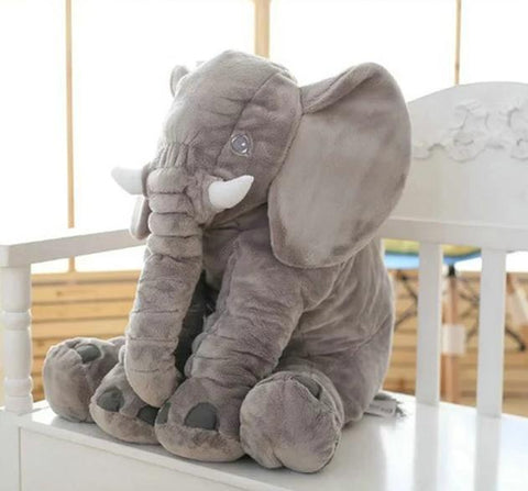 Very Soft Huggable Elephant Pillow