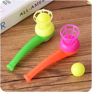 10 Pcs Classic Plastic Pipe & Floating Ball Toy