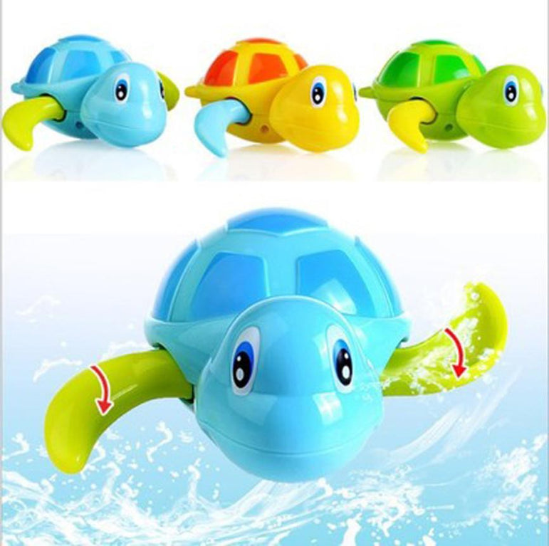 Tortoise Wind Up Chain Floating toy - 3 PCS