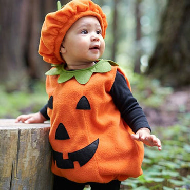Cute pumpkin costume for toddlers