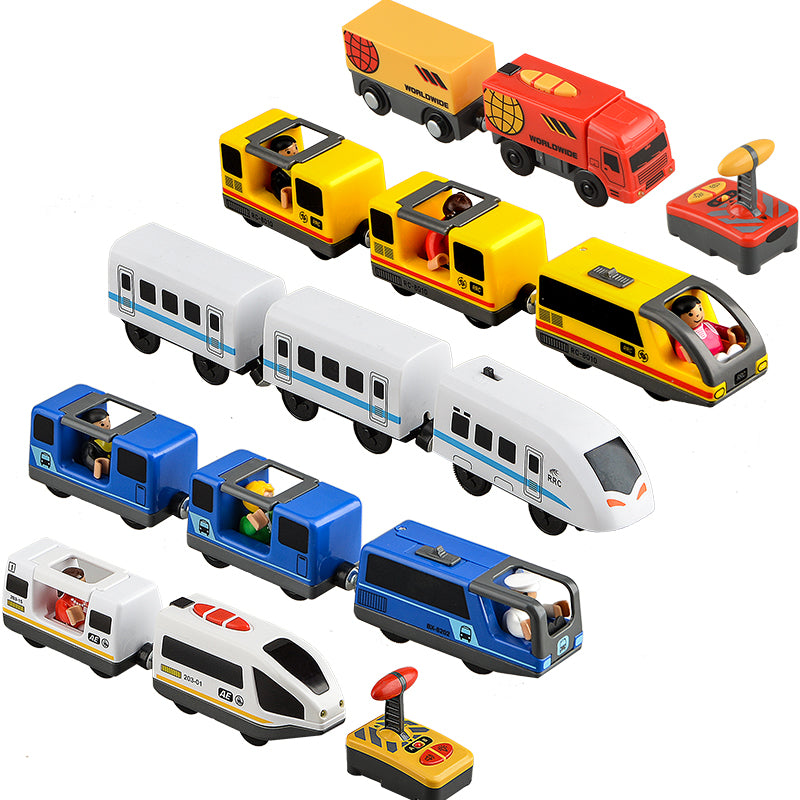 Kids Electric Train Set Magnetic Trains