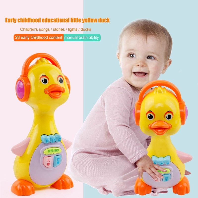 Music Playing & Story Telling Duck Toy