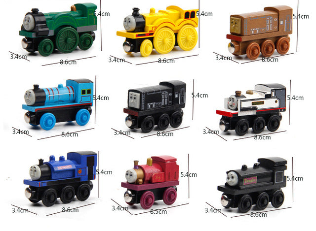 Wooden Railway Track Trains &  Accessories