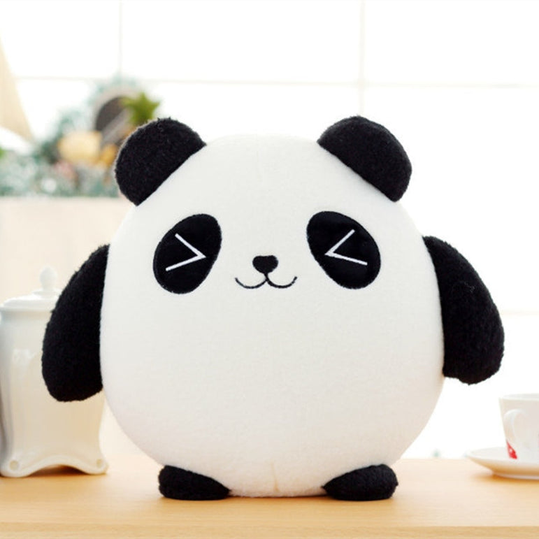 18cm Panda & Cat Plush Toys