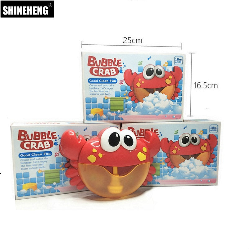 Crab Whale & Frog Bath Bubble Maker
