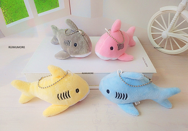 Shark Plush Stuff Toy Key-Chain 12CM