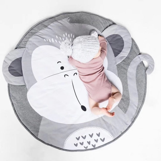 Cartoon Animals Baby Play Mats