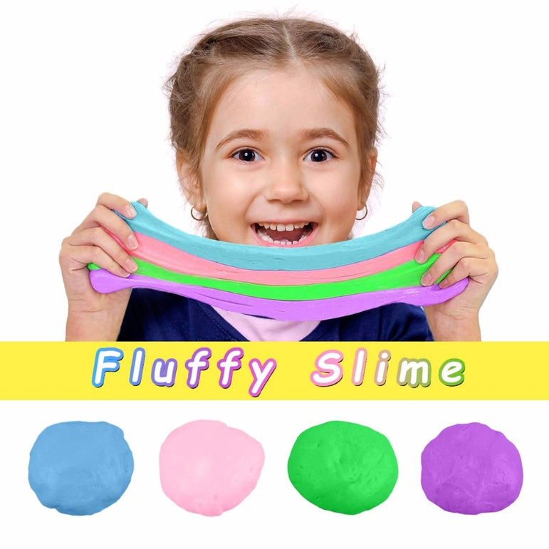 Anti-Stress Fluffy Slime Putty Soft Clay