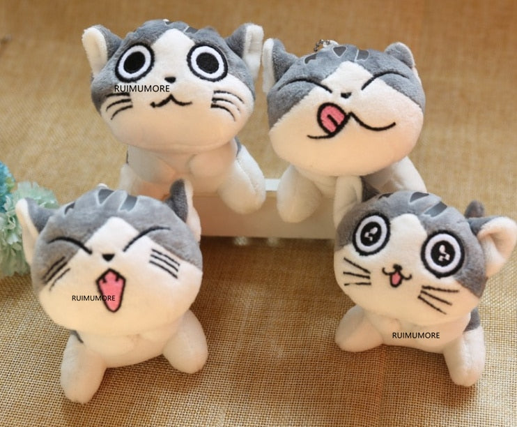 Cat Plush Stuffed Toy Doll Key-ring