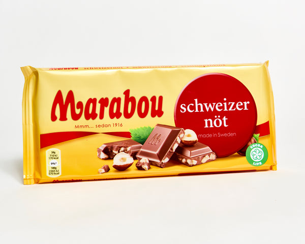 Marabou Milk Chocolate Bar - Hazelnut Crisp - 200G