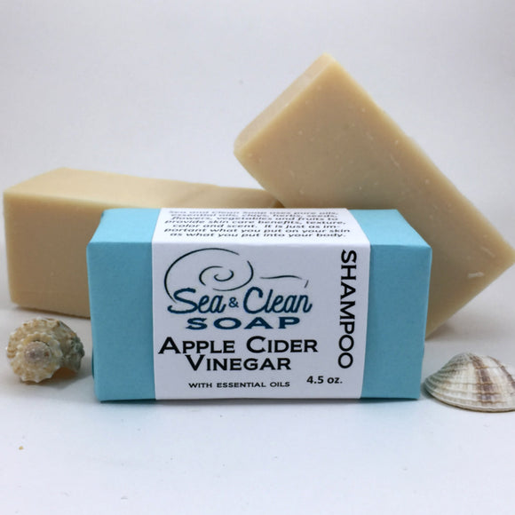 Apple Cider Vinegar Shampoo SEA and CLEAN Soap