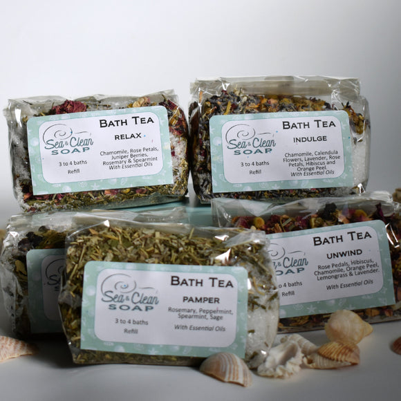 Bath Tea Herbal from SEA and CLEAN Soap
