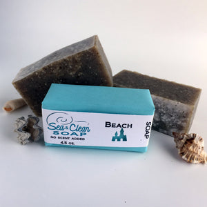 Beach Soap Bar - no scent added