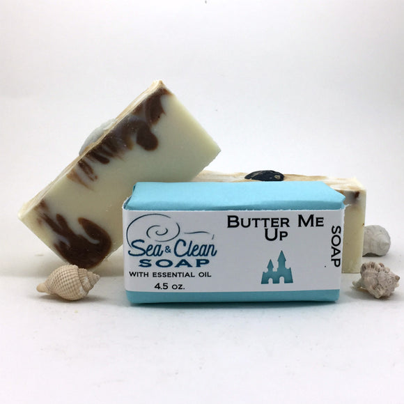 Butter Me Up Soap Bar with essential oils | SEA and CLEAN Soap