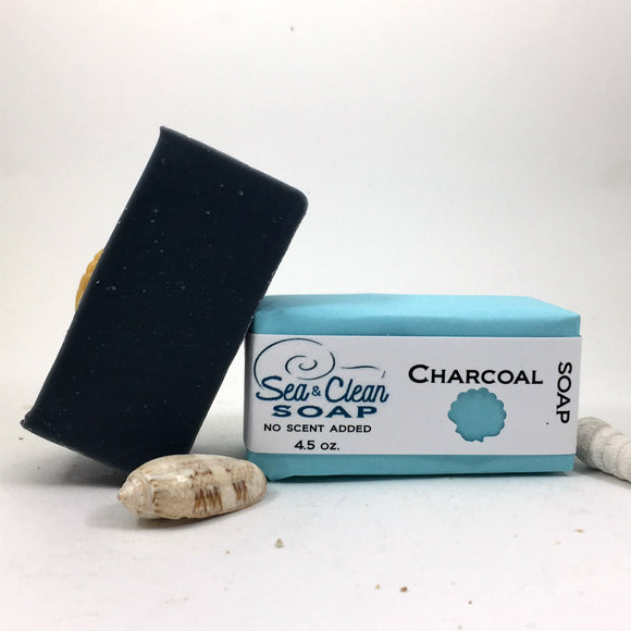 Charcoal Soap is a great soap for you face and body.