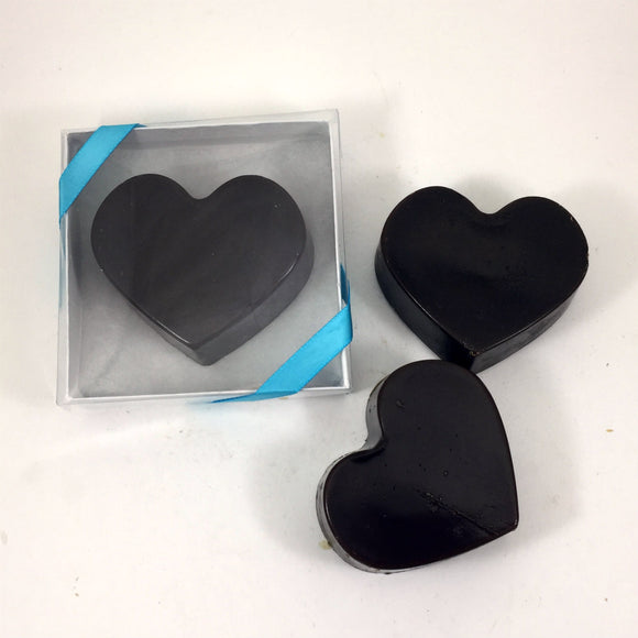Chocolate Lovers Heart Soap Bar / SEA and CLEAN Soap