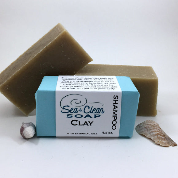 Clay Shampoo Bar