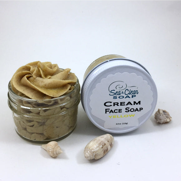 Cream Face Soap - yellow