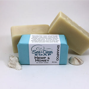Hemp and Honey Shampoo Bar