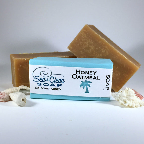 Honey and oatmeal   This bar is great for all skin types, especially dry skin.