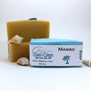 Mango Soap Bar / SEA and CLEAN Soap