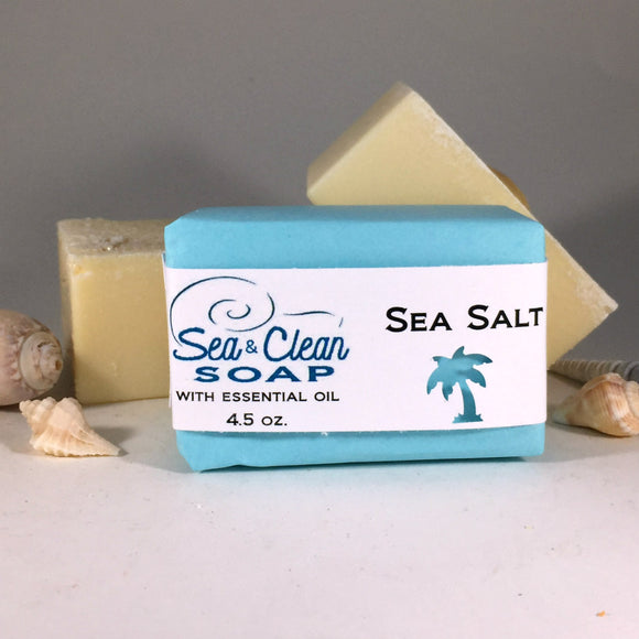 Sea Salt Soap Bar / SEA and CLEAN Soap