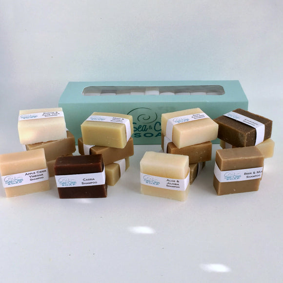 Shampoo Bars 16 pack in a Gift Box