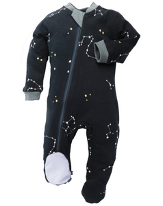 ZippyJamz- Galaxy Love- Navy - 3-6M ZippyJamz Malarkey Kids
