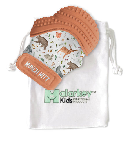 Munch Mitt - Woodland Animals Munch Mitt Malarkey Kids
