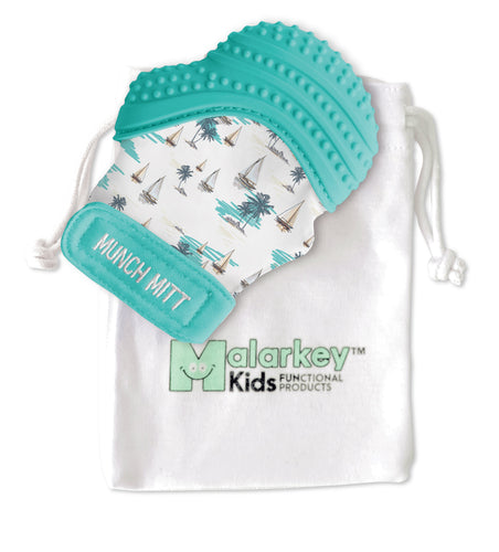Munch Mitt - Sail Away Munch Mitt Malarkey Kids