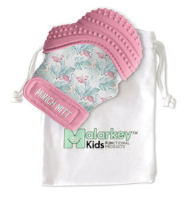 Munch Mitt - Flamingo Munch Mitt Malarkey Kids