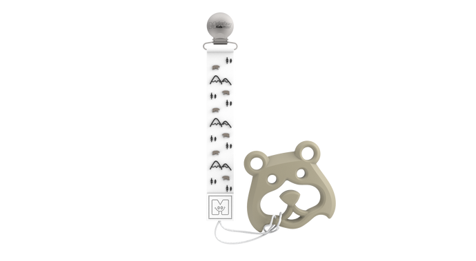 Teether Tether & Teether - Bear Mountain & Bear Teether Tether & Teether Malarkey Kids