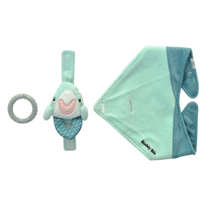 Buddy Bib Baby Shark Buddy Bib Malarkey Kids