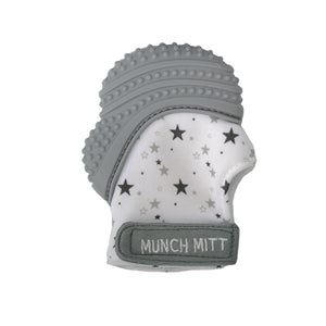 Munch Mitt - Grey - Stars