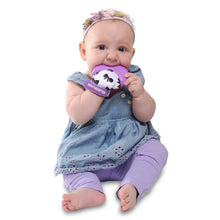 Munch Mitt - Purple - Bows Munch Mitt Malarkey Kids