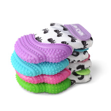 MUNCH MITT THE ORIGINAL MOM INVENTED HAND HELD TEETHER.  100% FOOD-GRADE SILICONE. HELPS BABY WITH SELF SOOTHING trendy collection