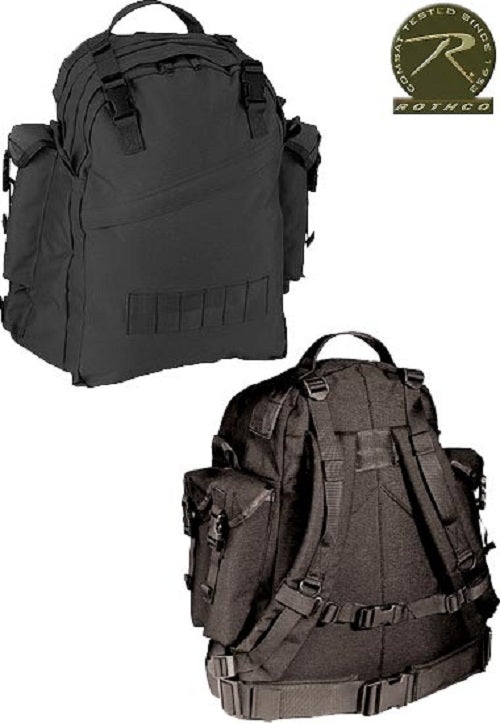 Rothco Special Forces Assault Pack-Black