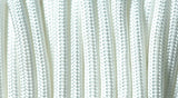 Rothco White Polyester Paracord – Solid
