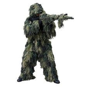 Rothco - Lightweight All Purpose Ghillie Suit - Woodland Camo