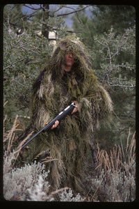 Rothco - Ultra Light Long Ghillie Jacket - Woodland Camo