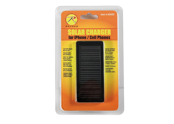 Rothco Cell Phone/iPhone Solar Charger