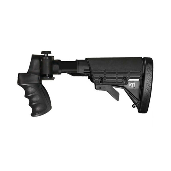 Advanced Technology Inc. Tactical Shotgun Adjustable Side Folding Stock with Scorpion Recoil System - MOSS/REM/WIN