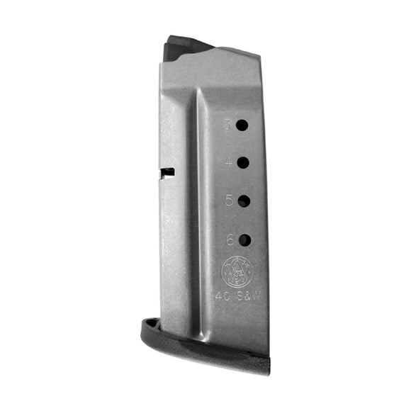 Smith & Wesson - Shield .40 S&W - 6 Round – Stainless