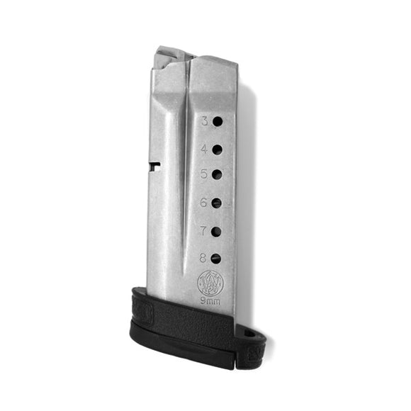 Smith & Wesson - Shield 9MM - 8 Round - Stainless - With finger rest