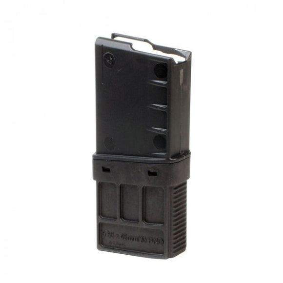 TangoDown - M16/M4/AR-15 type weapons, in 5.56 x45mm NATO/.223 Remington chambering 20 Round Magazine – Black