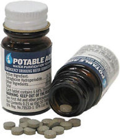 Potable Aqua® Water Purification Tablets