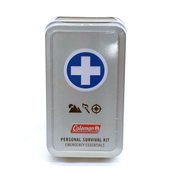 Coleman® PERSONAL SURVIVAL First Aid Tin