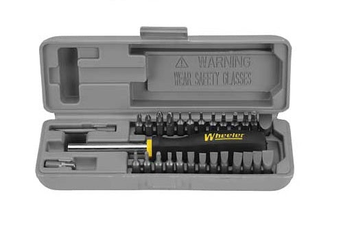Wheeler - Gunsmithing Space-Saver Screwdriver Set