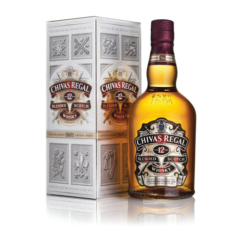 Chivas Regal 12 Yr  750ml