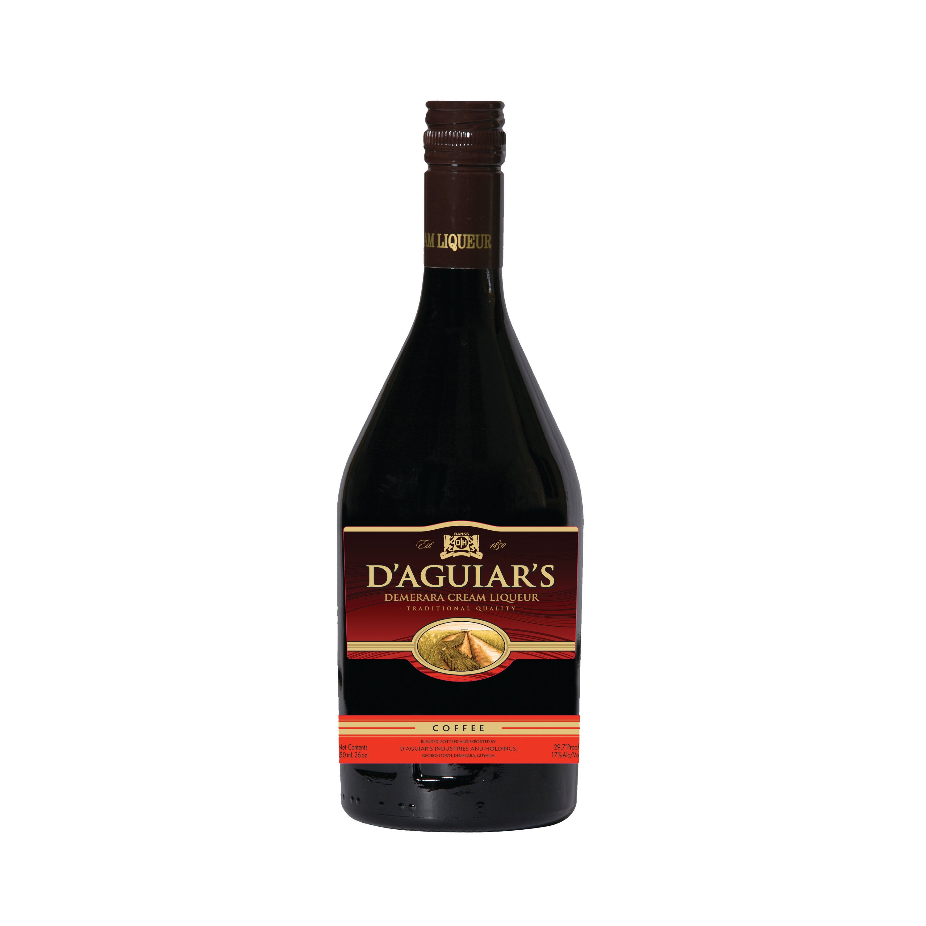 D'Aguiars Coffee 750ml